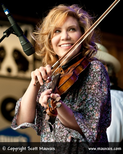 Alison Krauss & Union Station at MerleFest 2012