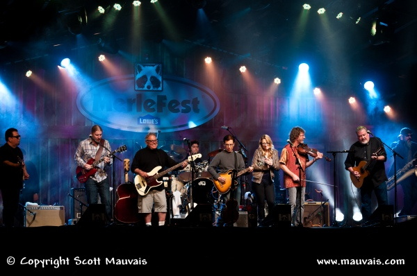 Los Lobos with Sam Bush, Susan Tedeschi, and Derek Trucks at MerleFest