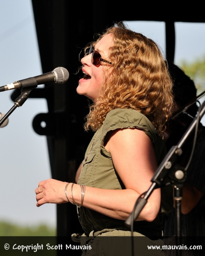 Joan Osborne performs with The Waybacks for the MerleFest Hillside Album Hour